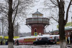 г. Чистополь, Водонапорная башня на верхнем рынке