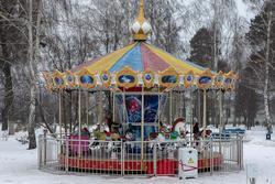 г. Чистополь, Скарятинский сад (в советское время - верхний парк)