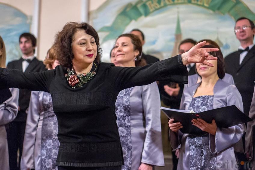Фото №122246. Камерный хор Казанского Дома учёных «Гармония».