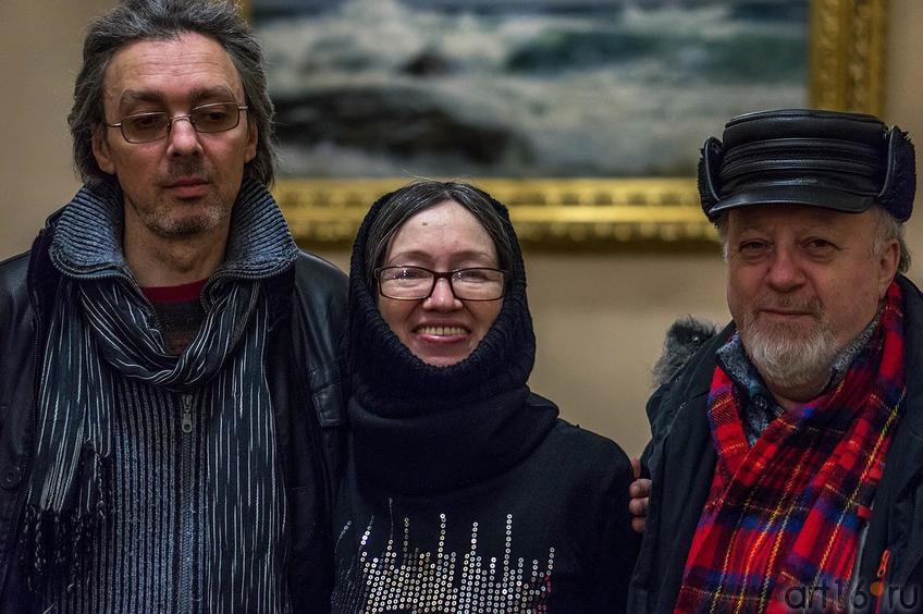 Фото №122264. Андрей Абдракипов, Наиля Ахунова, Борис Вайнер