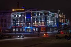 Казань, перекресток Пушкина / Профсоюзная