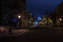 г.Казань, ул. Кремлевская, 13.01.2013