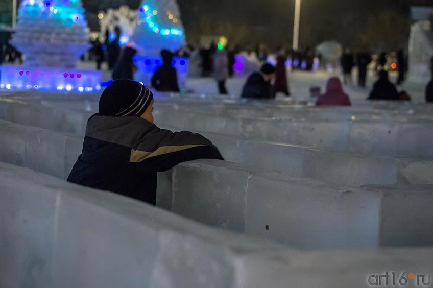 Фото №122320. Ледовый городок, кукольный театр «Экият»