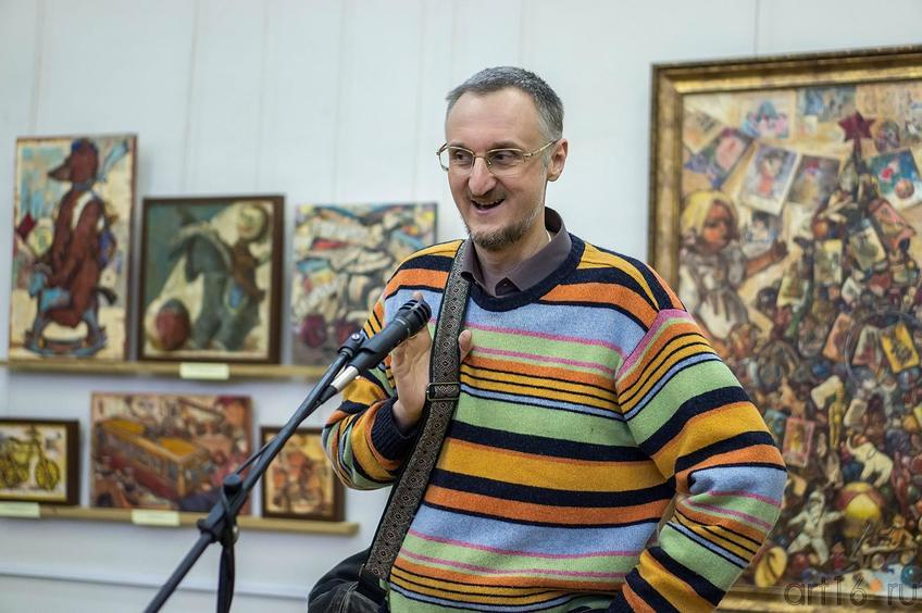 Фото №123128. Виталий Скобеев.  Открытие выставки Е.Титовой ''Казанский чердачок''
