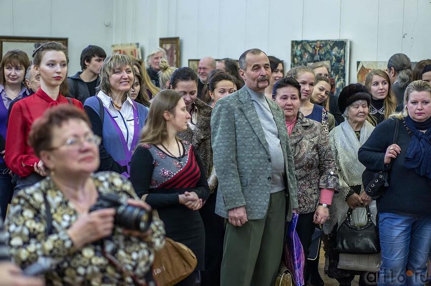 Фото №123134.  Открытие выставки Е.Титовой ''Казанский чердачок''