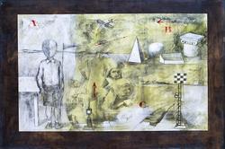 АРТАМОНОВ АЛЕКСАНДР г.Казань ПУТЕШЕСТВИЕ. 2010 Бумага, карандаш