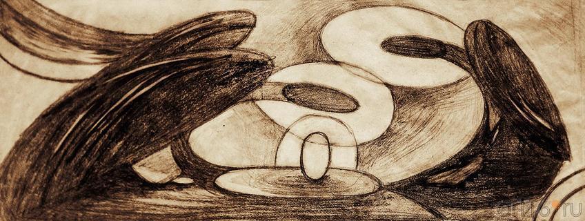 Фото №123446. СМОЛИНА ДАРЬЯ Камский институт искусств и дизайна г.Набережные Челны СЕРИЯ «АНГЕЛЫ». 2012 Бумага, карандаш