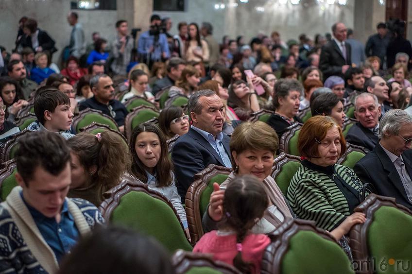 Фото №123686. Перед началом концерта-презентации диска «Антология музыки композиторов Татарстана»