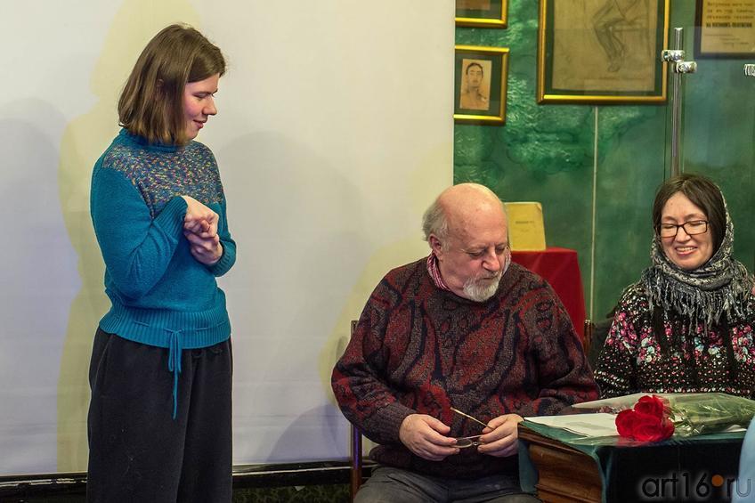 Фото №123880. Ольга Овчинникова, Борис Вайнер, Наиля Ахунова