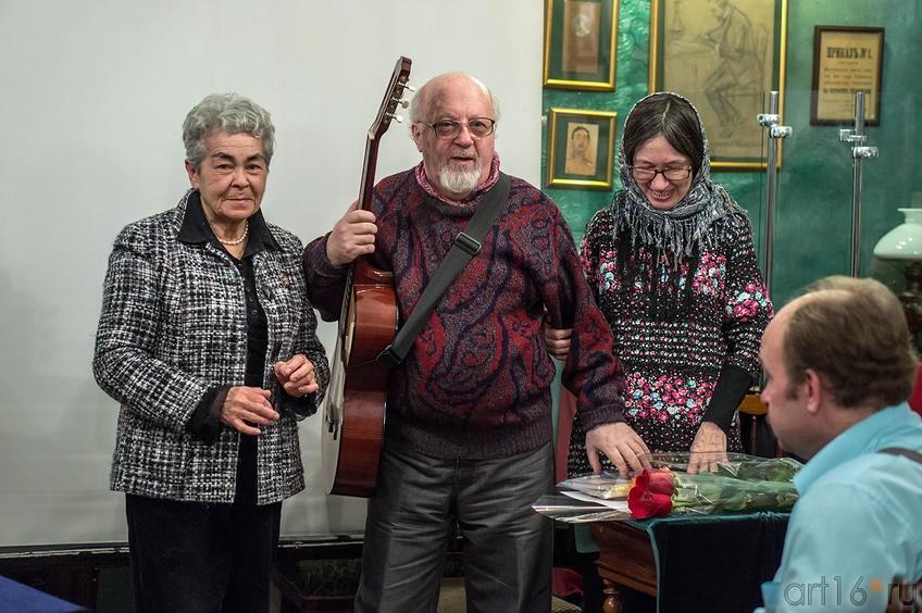 Фото №123904. Лейля Каримова, Борис Вайнер, Наиля Ахунова