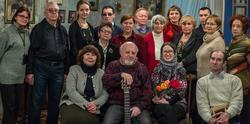 Коллективная фотография с творческого вечера Бориса Вайнера, 26.01.2013