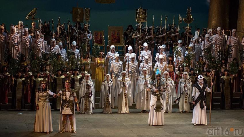 Фото №124422. Опера «Аида» Дж.Верди. Действие 2-е, картина 2-я.