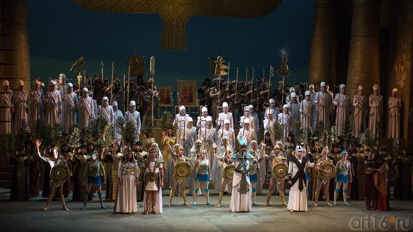 Фото №124428. Опера «Аида» Дж.Верди. Действие 2-е, картина 2-я.