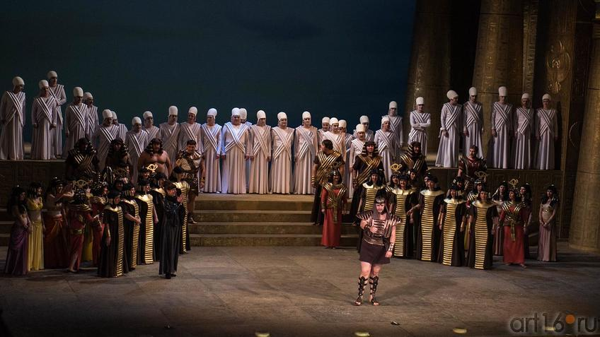 Фото №124482. На поклон. Опера Дж.Верди ''Аида'', ТАГТОиБ — 1.02.2013