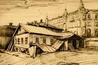 КРЕНДЕЛЬНОЕ ЗАВЕДЕНИЕ СЕМЕНОВА, В КОТОРОМ В 1885 ГОДУ РАБОТАЛ А.М. ПЕШКОВ