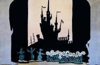 Л.Е. УСТИНОВ, О.П. ТАБАКОВ «БЕЛОСНЕЖКА И СЕМЬ ГНОМОВ». «ПЕРЕД ЗАМКОМ». 1964