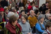На открытии выставки «Театр Эрнста Гельмса», 31.01.2013, «Хазинэ»