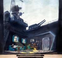 А.П. ШТЕЙН «ОКЕАН». «В КАЮТЕ ПЛАТОНОВА». 1961