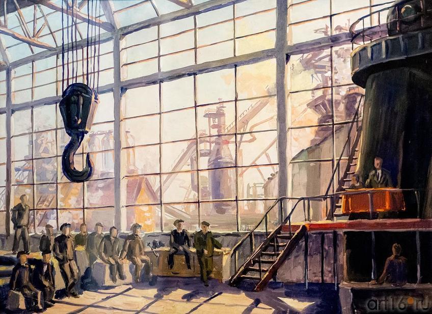 Фото №124908. В.А. КОЧЕТОВ «БРАТЬЯ ЕРШОВЫ». 1959