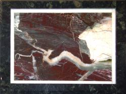 «Пейзажный камень», картина из яшмы