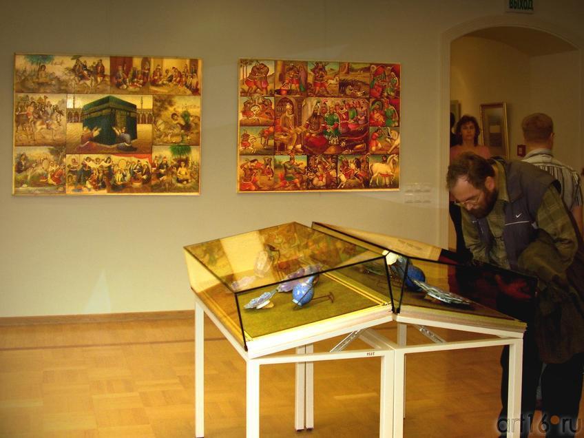 Фото №13354. Выставка. Фрагмент экспозиции