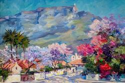 Клементьева Э.В. 1965 г.р. Член СХ России Песня Африки. Весна у подножья гор.