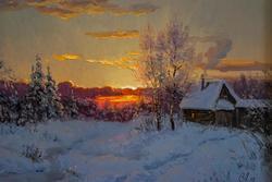 Викентий Лукиянов  «Зимний вечер»