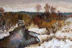 Чёрный А.В.  Первый снег, 2002