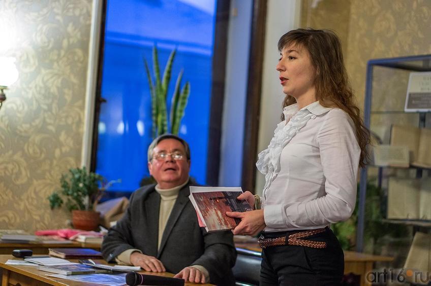Ахат Мушинский, Людмила Пельгасова<br /> ©Art16.ru Photo Archive