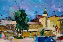 Кожевников В.Е. «Полдень. Улица Марата»