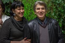 В гроте НБ РТ,  после презентации журнала ''Казанский альманах'' №9