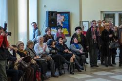 На открытии выставки ''30 дней до весны'', галерея Мазитова, 1 февраля 2013