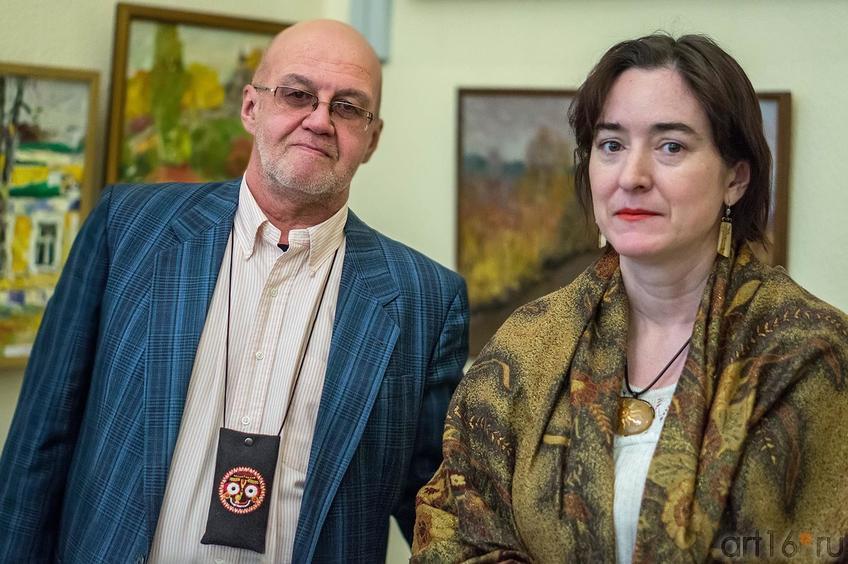 Гауранга и Татьяна Пашагина::«30 дней до весны» выставка художников, Чебоксары, Казань