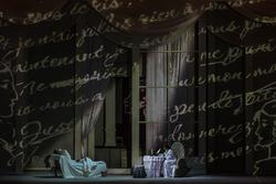 Сцена письма.  Опера