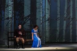 Объяснения Татьяны и Онегина. Опера ''Евгений Онегин. Действие 1-е, 3-я картина.