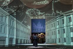 Петербург встречает Онегина, вернувшегося из дальних странствий
