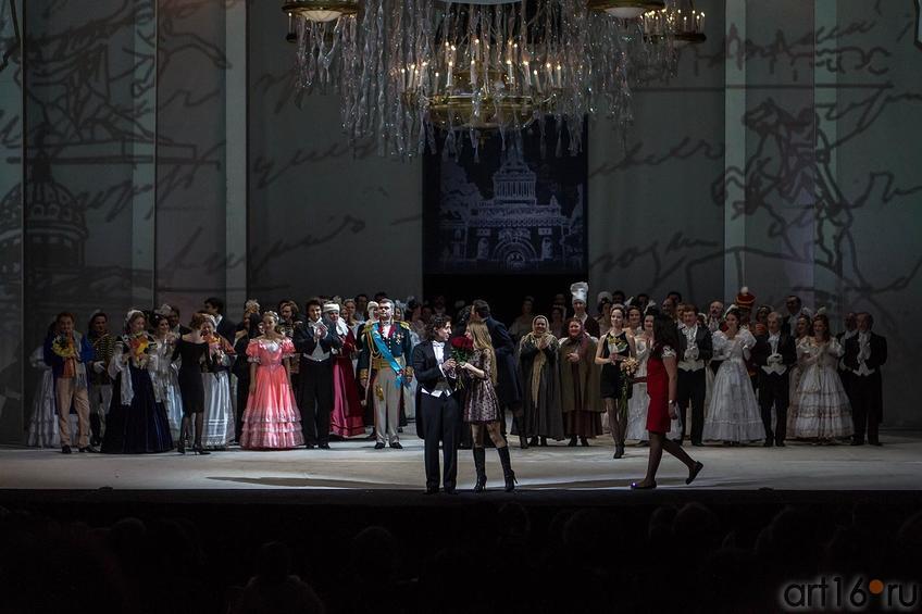 Дирижер — Айрат Кашаев (Москва)::Опера «Евгений Онегин», XXXI Шаляпинский оперный фестиваль