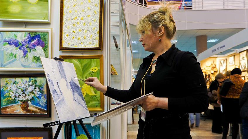 Фото №89787. Наталья Сафиуллина ''Художники выходного дня'', Казань