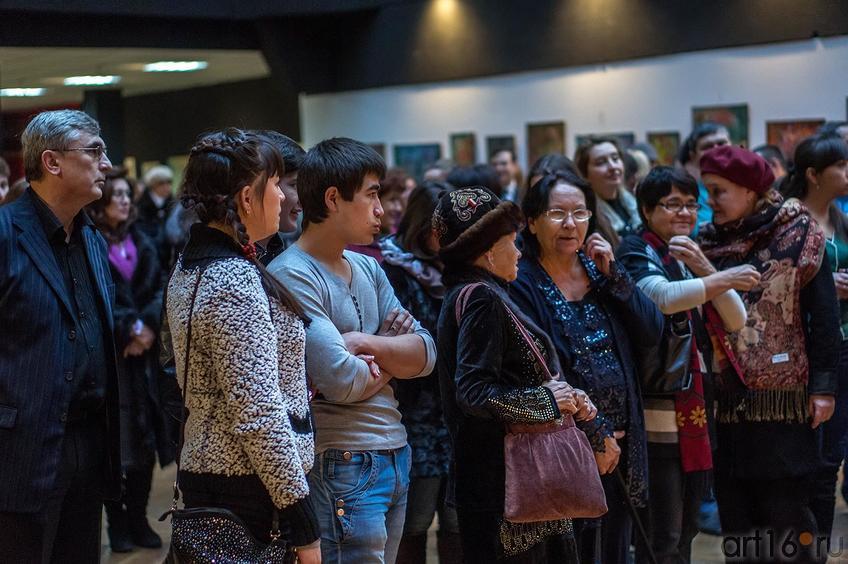 Фото №135911. На открытии выставки ''Восточный караван'', февраль 2013