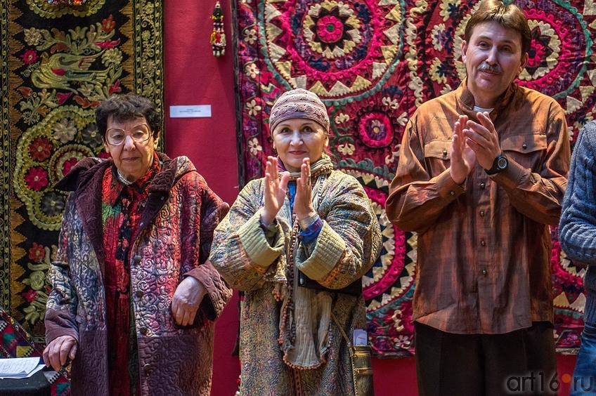 Фото №135953. Дина Ходжаева (Пенсон), Альфия Валиева, Владимир Патлай