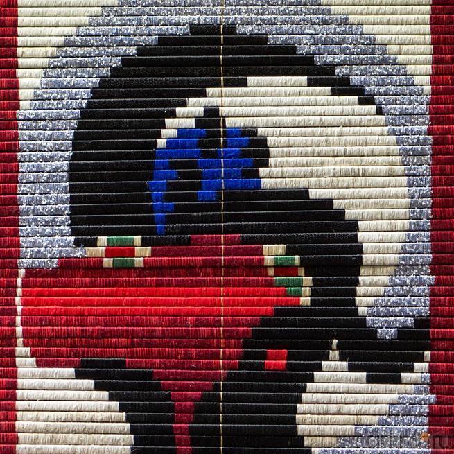 ПАТЛАЙ ВЛАДИМИР ОБЕРЕГ Чий, шёлк, шерсть::Выставка-продажа работ художников Узбекистана «Восточный караван»