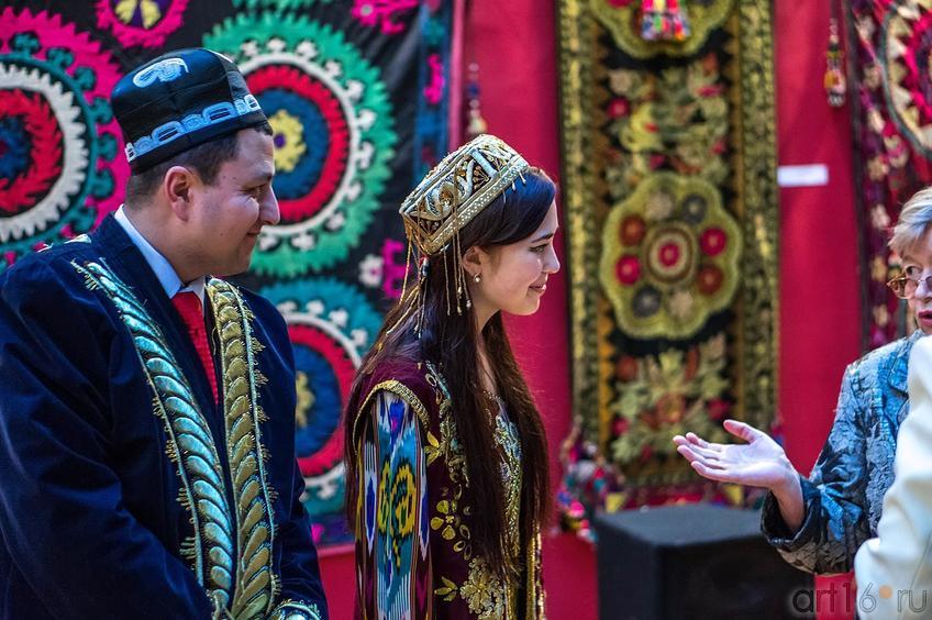 Фото №136067. На открытии выставки ''Восточный караван'', ГСИ ГМИИ РТ, февраль 2013