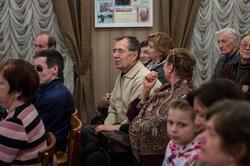 На творческом вечере  Юрия Кублановского в Доме Аксенова, Казань, 8.02.2013