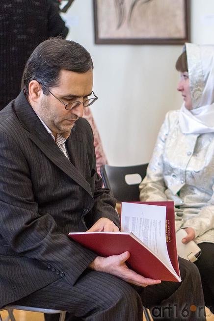 Парвиз Гасеми, атташе по культуре Генерального консульства ИРИ ::Ришат Саляхутдинов