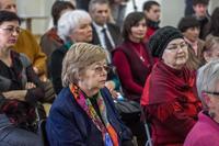 На открытии выставки Ришата Саляхутдинова,