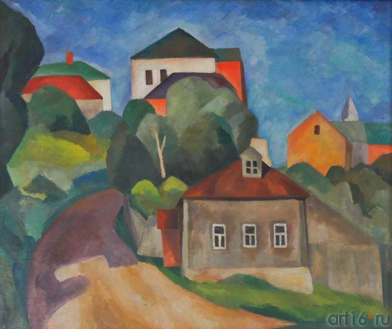 Пейзаж. 1913. Фальк Р.Р. (1886-1958).  Пермская государственная художественная галерея, январь 2012