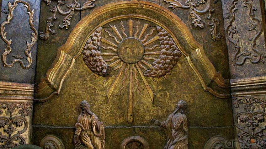 Фото №92729. Фрагмент иконостаса. Пермская художественная галерея
