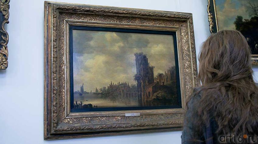 Фото №92733. Пейзаж с руинами. Ян Ван Гойен (1596-1656)