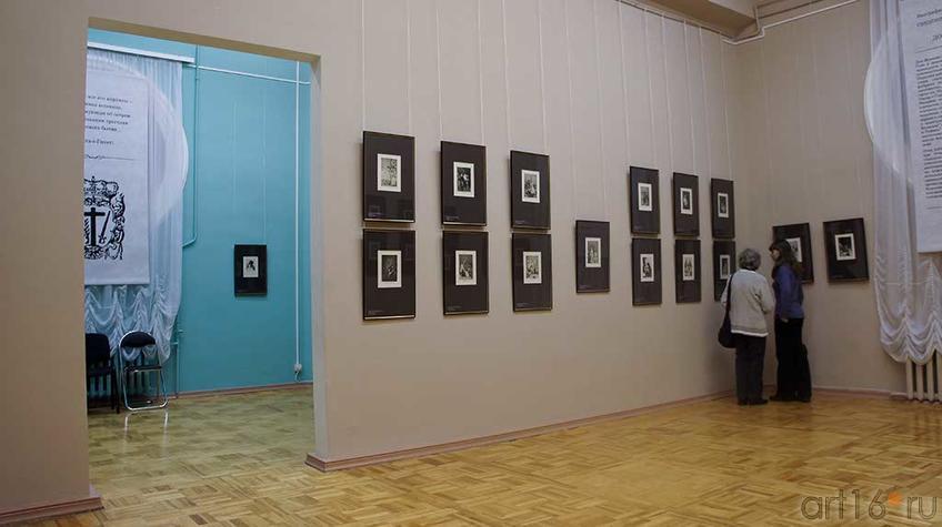 Фото №92737. Фрагмент экспозиции выставки  Капричос. Франсиско Хосе де Гойя - и -Лусиентес