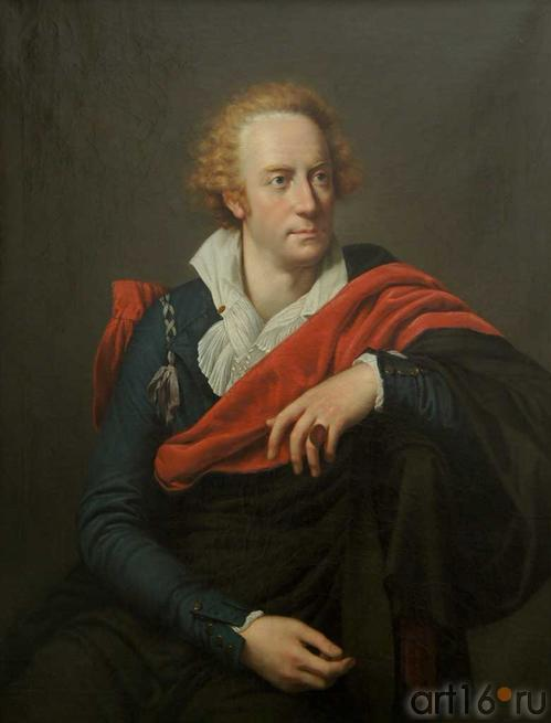 Портрет Витторио Альфьери. Франсуа Ксавье Паскаль Фабр (1766-1837). Пермская государственная художественная галерея, январь 2012